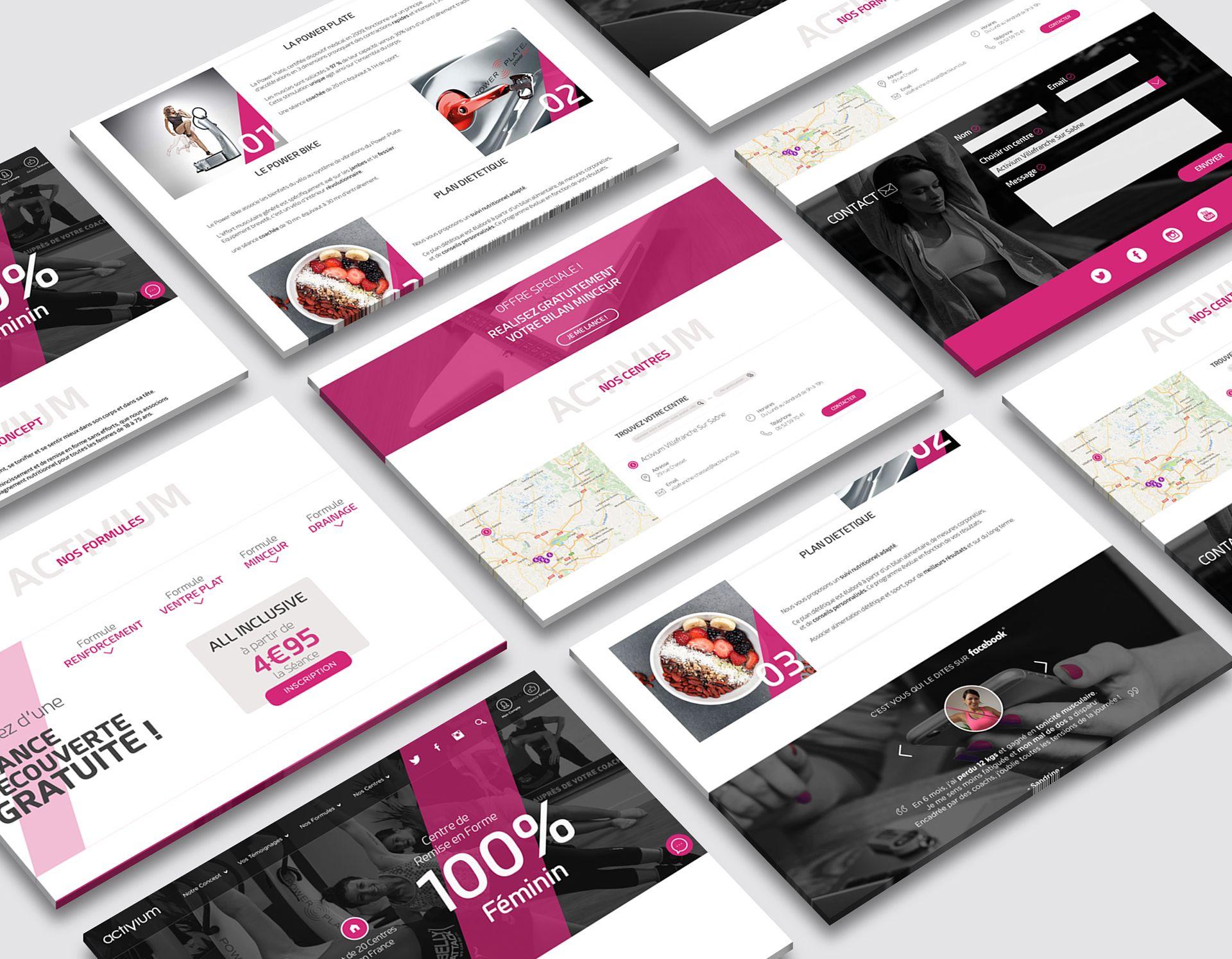 Activium BigOrNot Collectif de Freelance Site internet - Design - Site e-commerce
