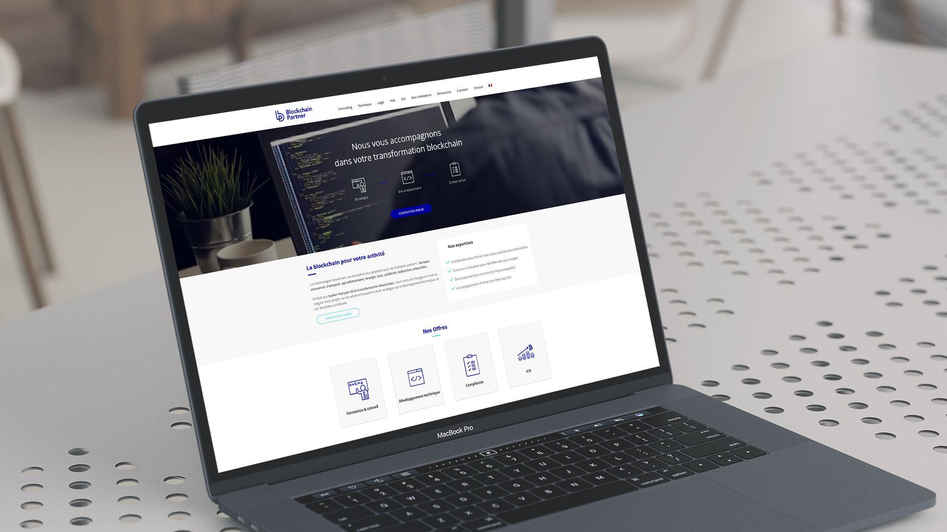 Blockchain Partners BigOrNot Collectif de Freelance Site internet - Design - Site e-commerce
